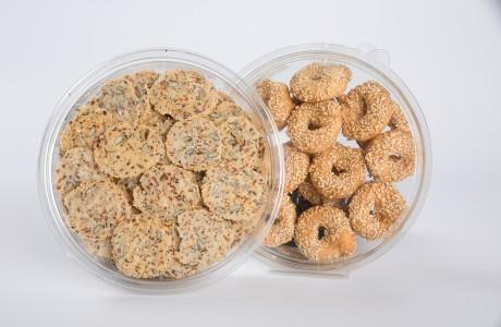 עוגיות מלוחות/קשקבל - פרווה/חלבי